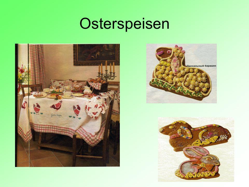 Osterspeisen