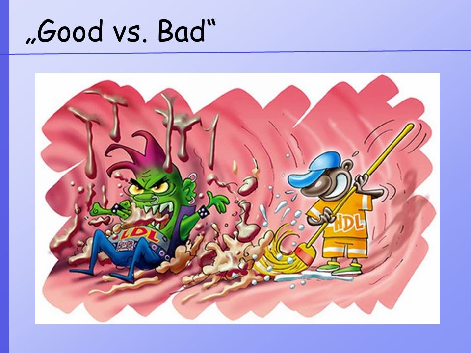 """Good vs. Bad"
