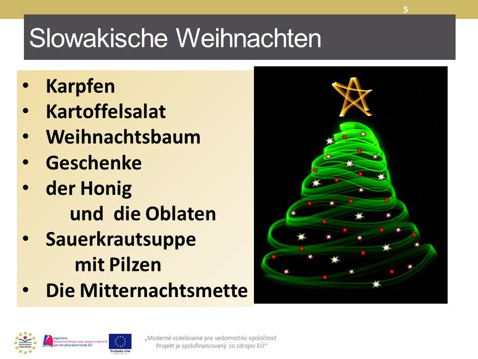 Slowakische Weihnachten