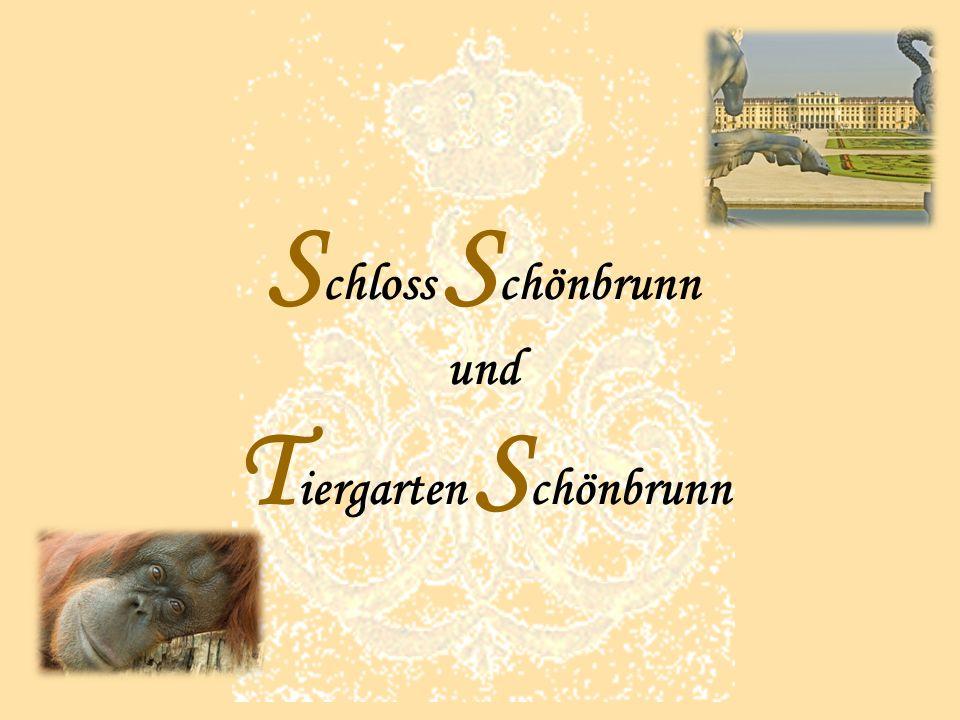Schloss Schönbrunn und Tiergarten Schönbrunn