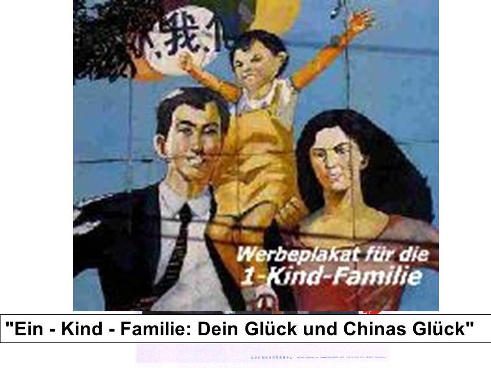 Ein - Kind - Familie: Dein Glück und Chinas Glück