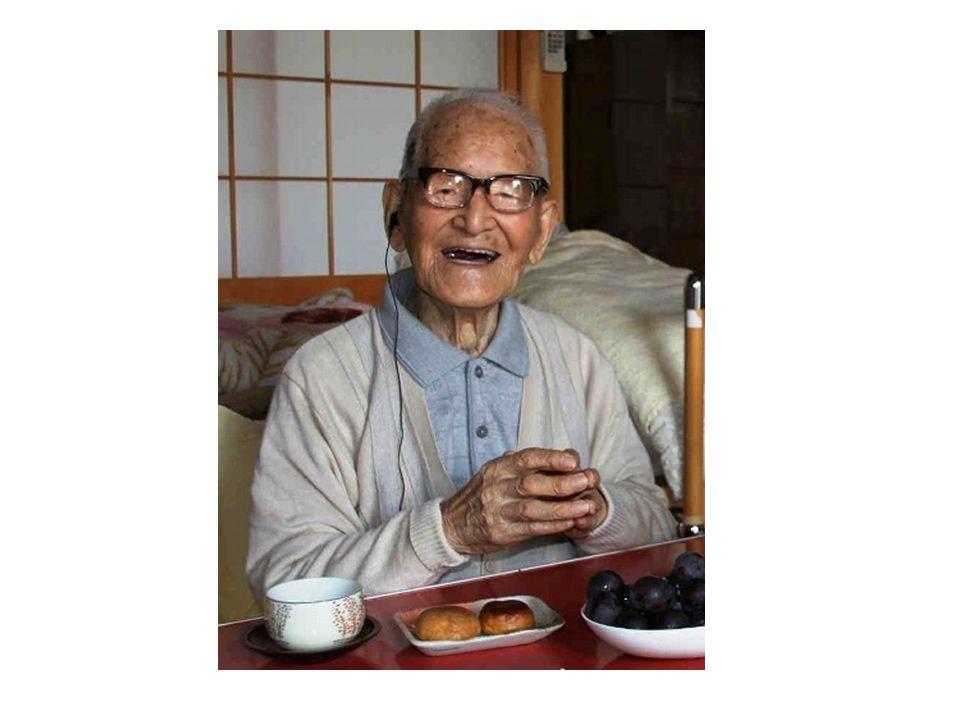 http://tokyo5.wordpress.com/2011/04/19/worlds-oldest-man/ Ältester Mann der Welt (114) aus Japan.