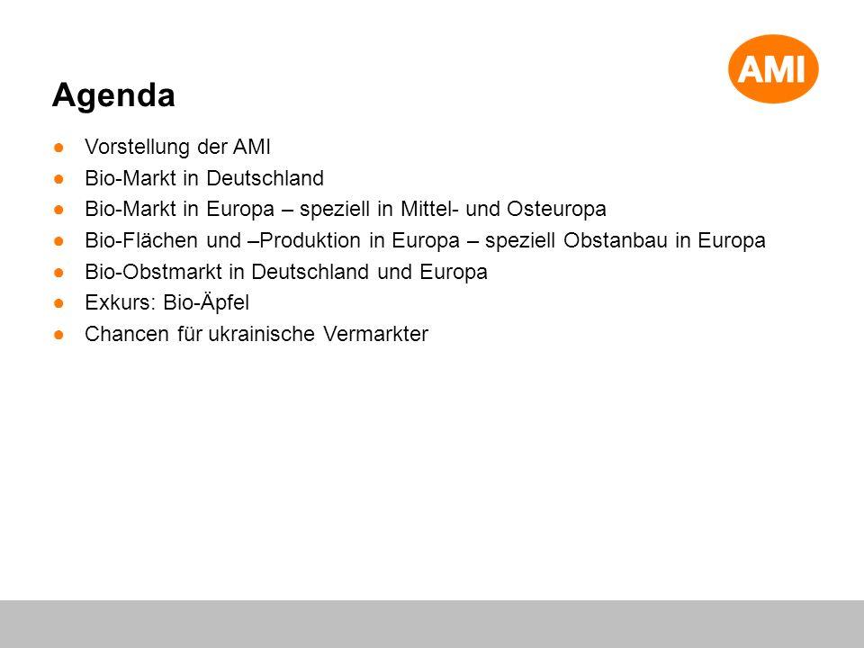 Agenda Vorstellung der AMI Bio-Markt in Deutschland