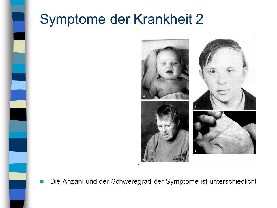 Symptome der Krankheit 2