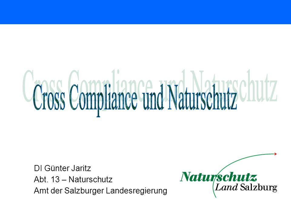 Cross Compliance und Naturschutz