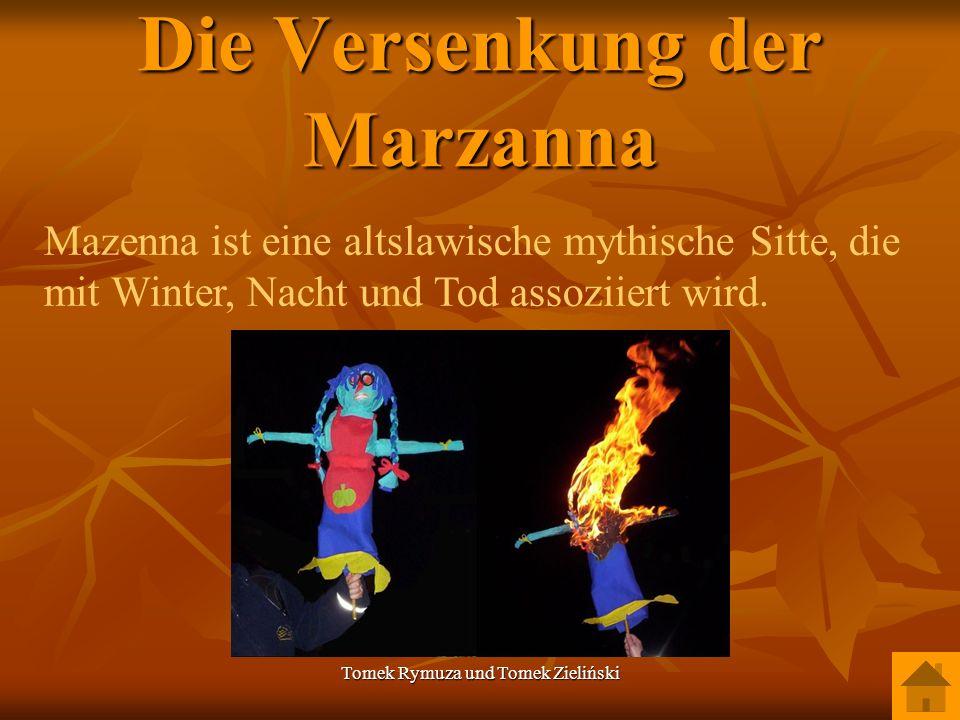 Die Versenkung der Marzanna
