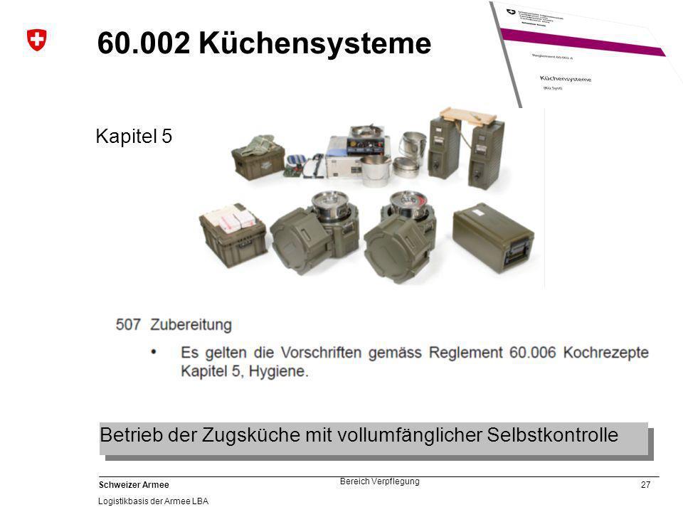 60.002 Küchensysteme Kapitel 5