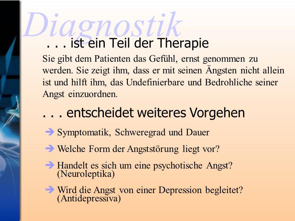 . . . ist ein Teil der Therapie