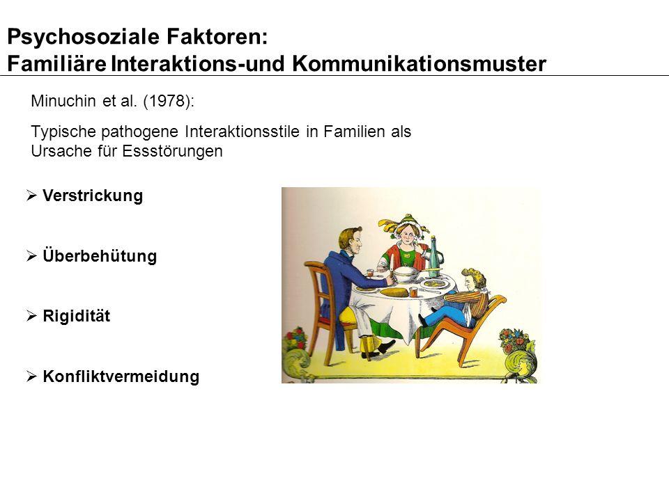 Psychosoziale Faktoren: Familiäre Interaktions-und Kommunikationsmuster