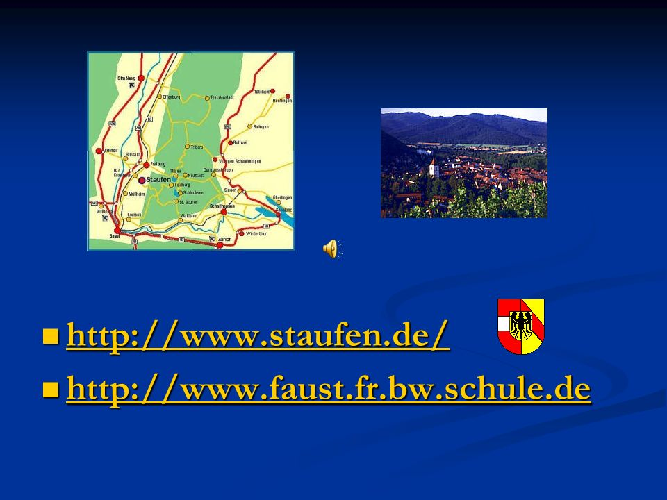 http://www.staufen.de/ http://www.faust.fr.bw.schule.de