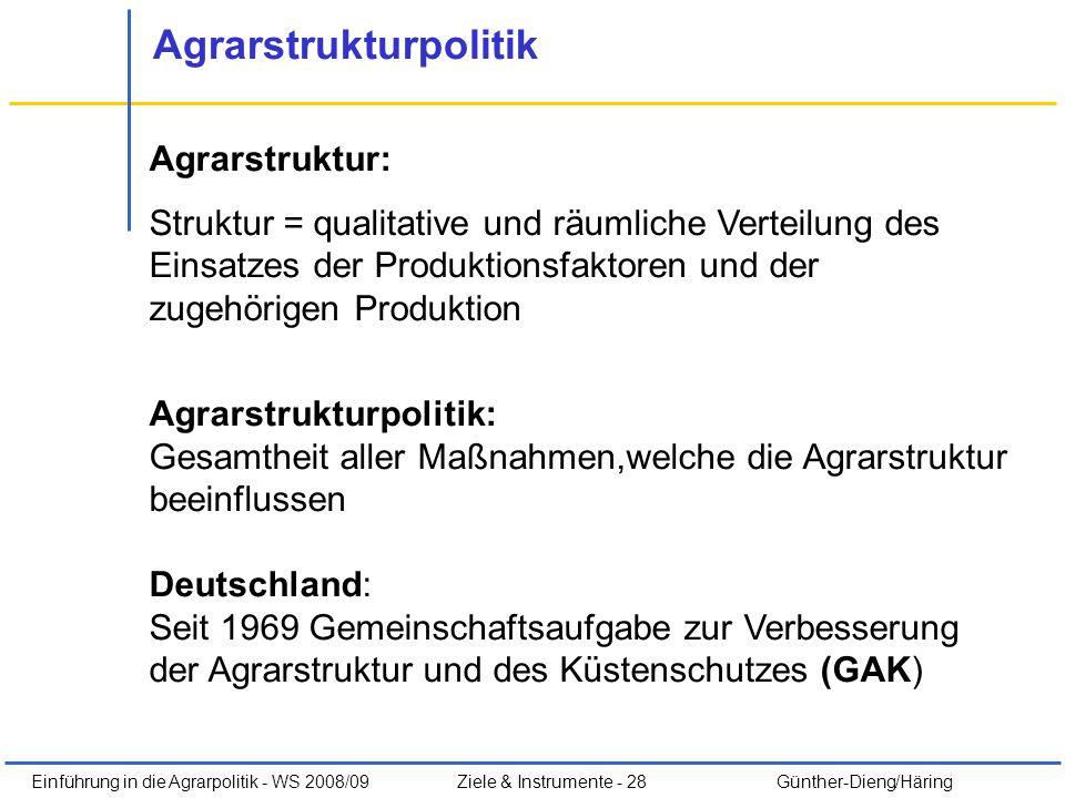 Agrarstrukturpolitik