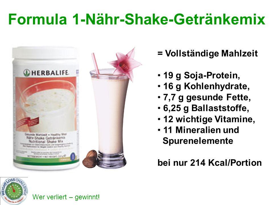 Formula 1-Nähr-Shake-Getränkemix