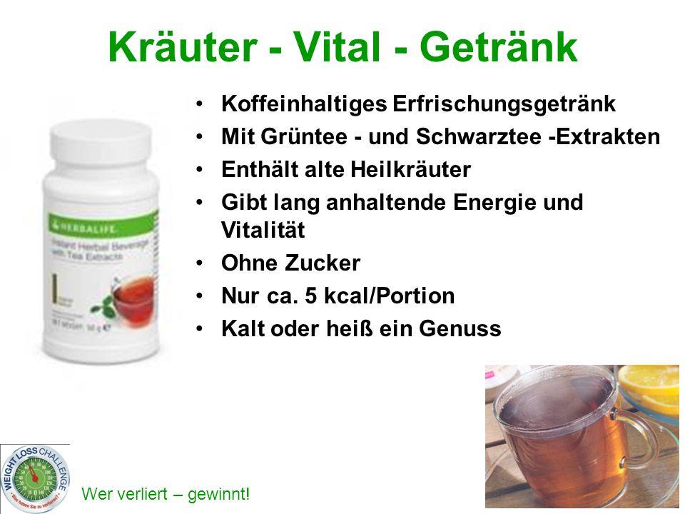 Kräuter - Vital - Getränk