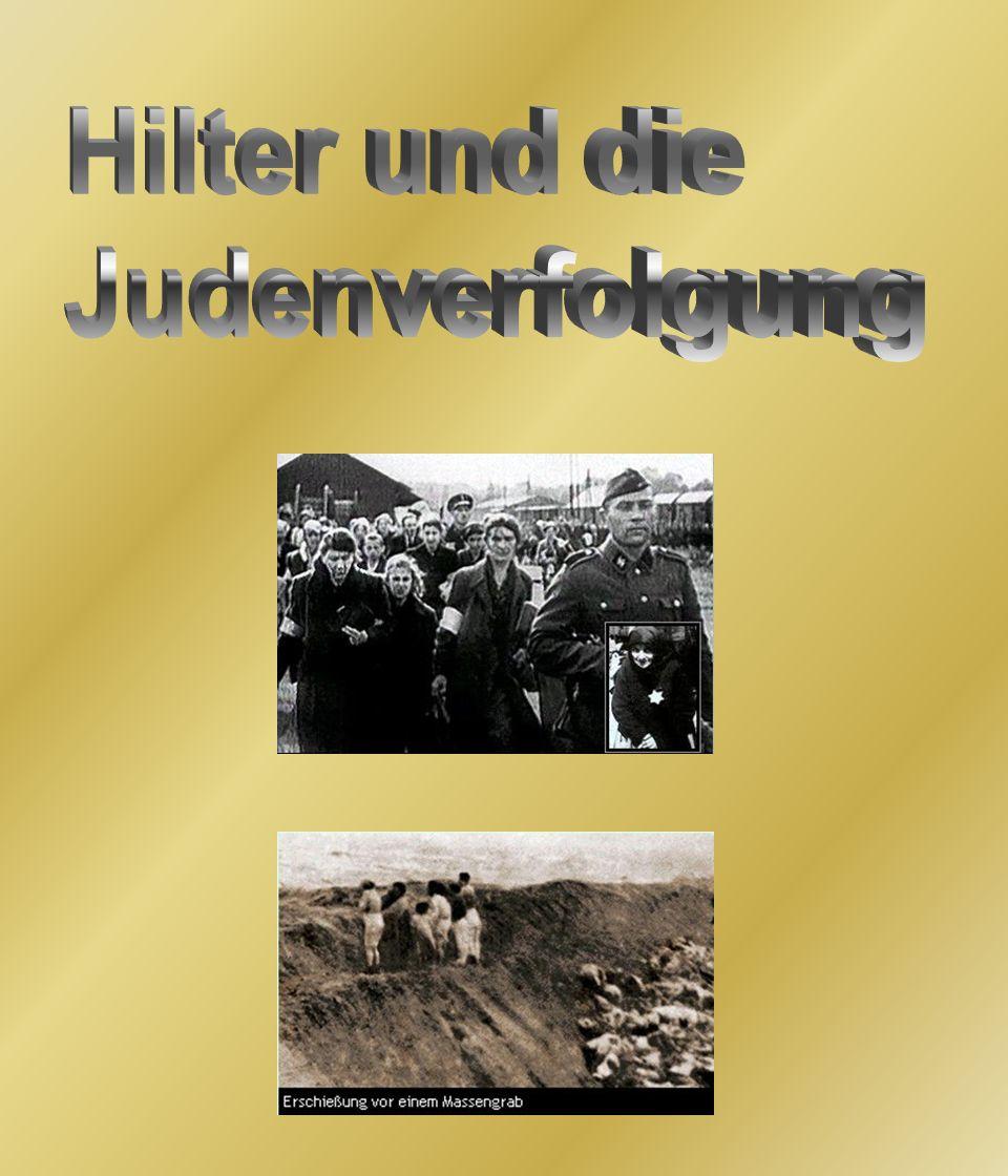 Hilter und die Judenverfolgung