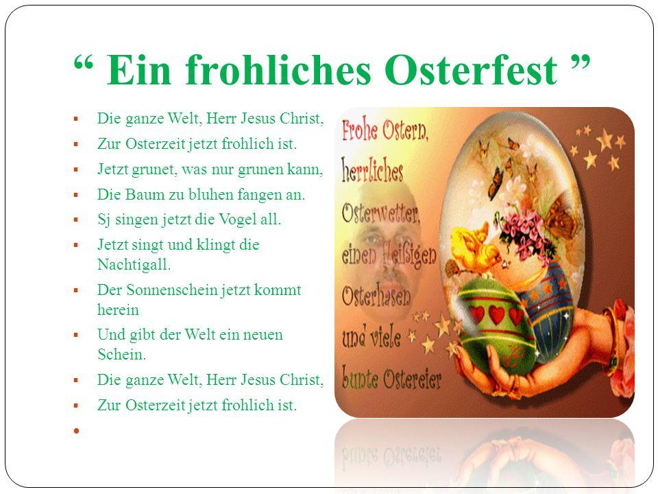 Ein frohliches Osterfest