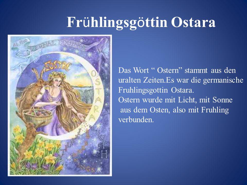 Frühlingsgöttin Ostara