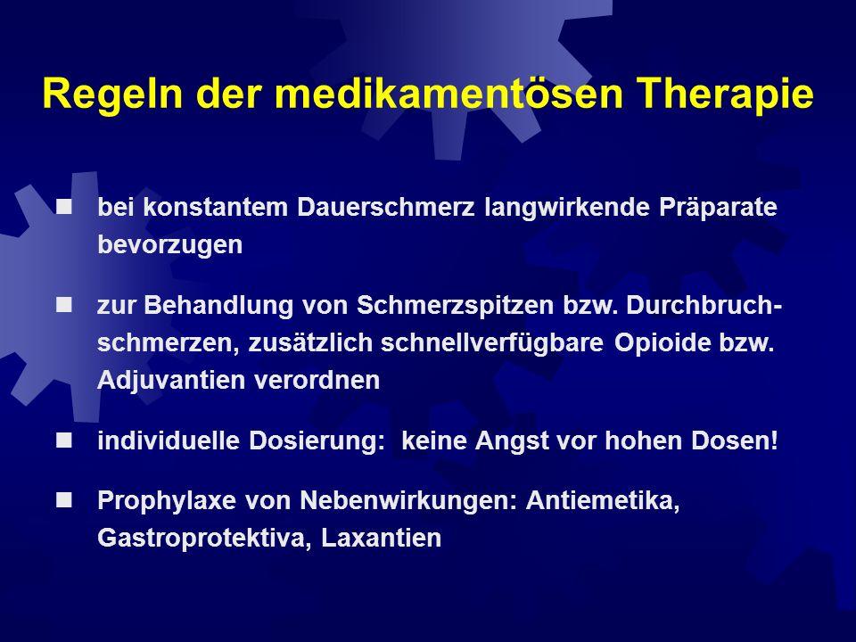 Regeln der medikamentösen Therapie