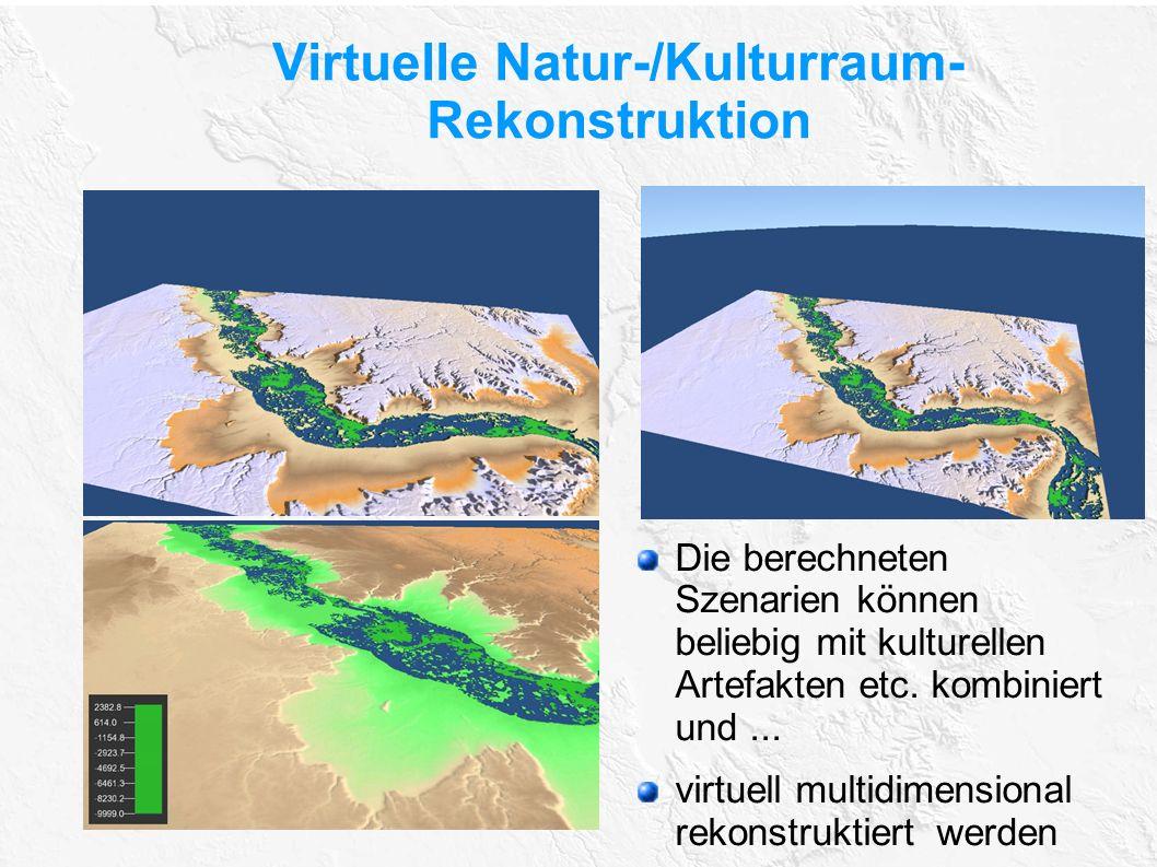 Virtuelle Natur-/Kulturraum-Rekonstruktion