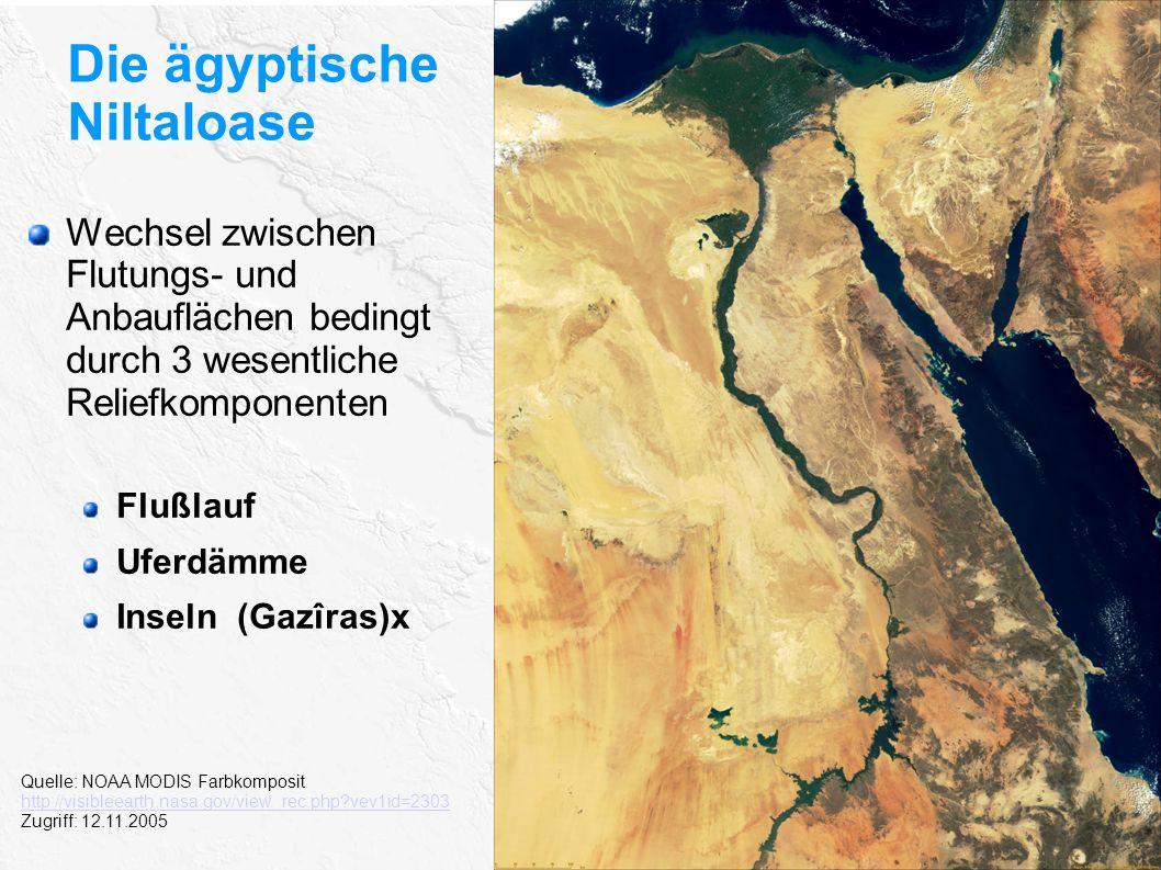 Die ägyptische Niltaloase