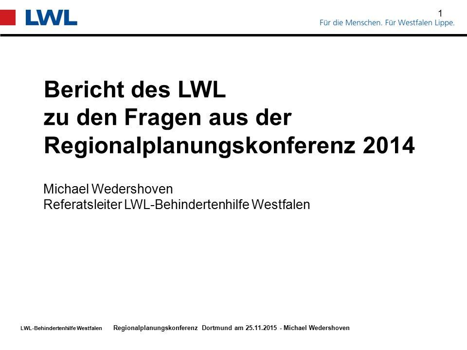 zu den Fragen aus der Regionalplanungskonferenz 2014