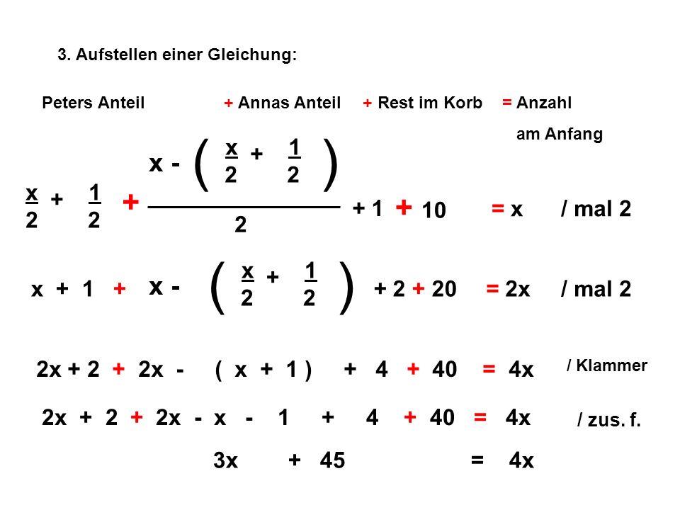 ( ) ( ) x + 1 2 2 x + 1 2 2 + + 10 x - x - 2 + 1 x + 1 2 2 = x / mal 2
