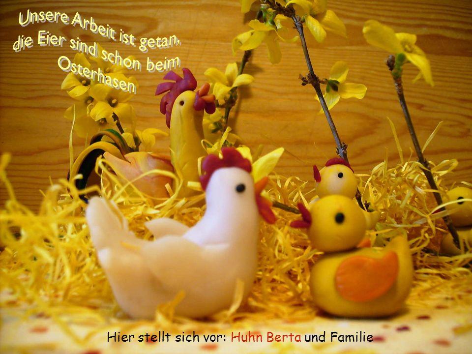 Unsere Arbeit ist getan, die Eier sind schon beim Osterhasen