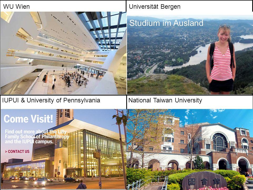Studium im Ausland WU Wien Universität Bergen