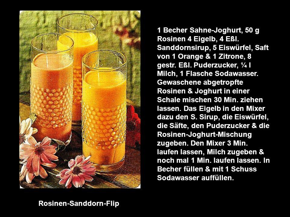Rosinen-Sanddorn-Flip