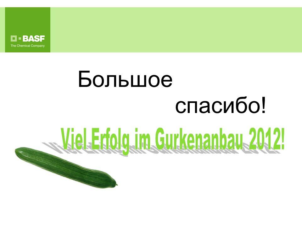 Viel Erfolg im Gurkenanbau 2012!