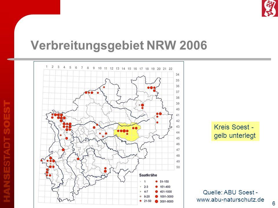 Verbreitungsgebiet NRW 2006