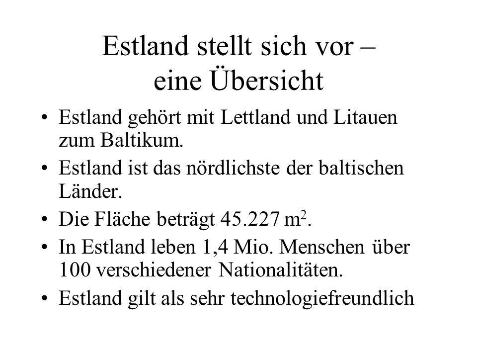 Estland stellt sich vor – eine Übersicht