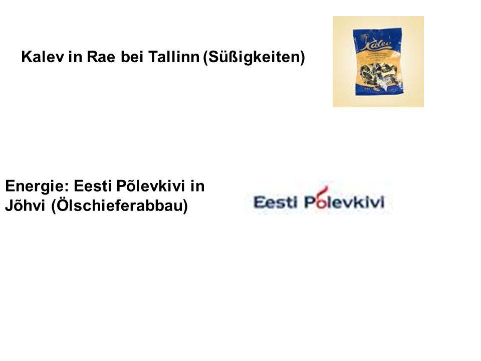 Kalev in Rae bei Tallinn (Süßigkeiten)