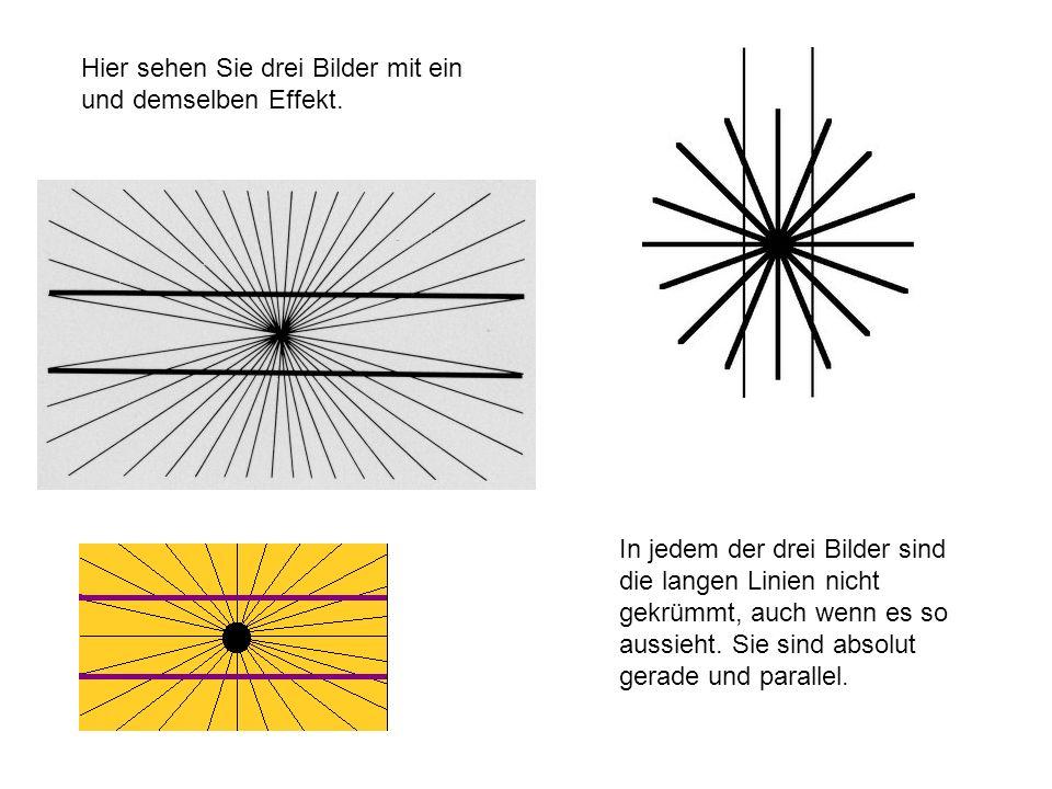 Hier sehen Sie drei Bilder mit ein und demselben Effekt.