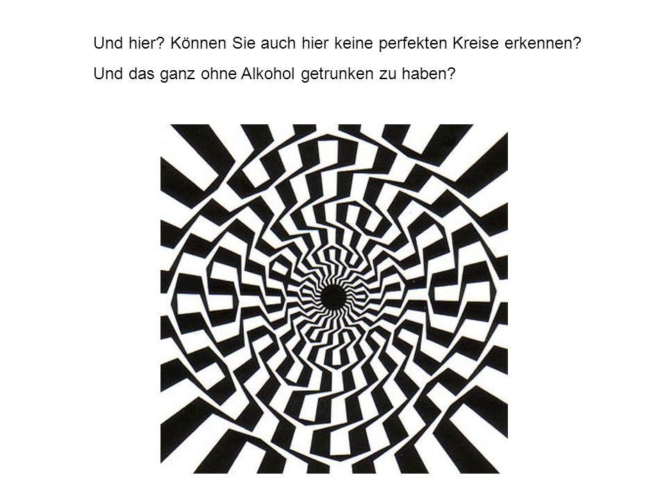 Und hier Können Sie auch hier keine perfekten Kreise erkennen