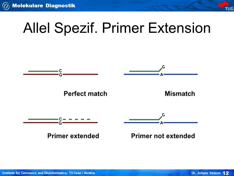 Allel Spezif. Primer Extension
