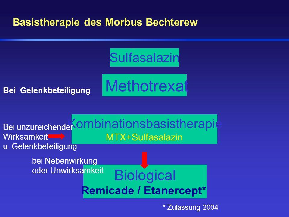 Basistherapie des Morbus Bechterew