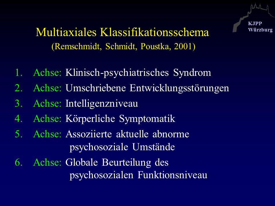 Multiaxiales Klassifikationsschema (Remschmidt, Schmidt, Poustka, 2001)