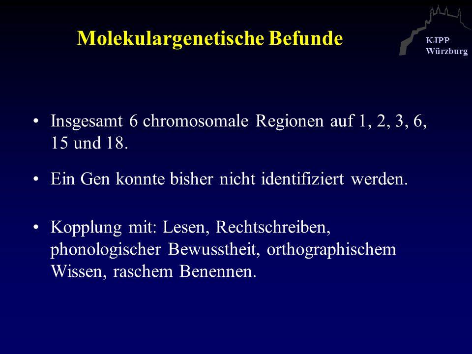Molekulargenetische Befunde