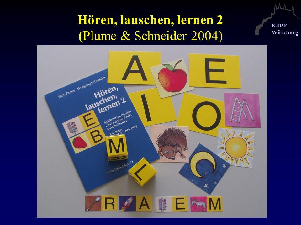 Hören, lauschen, lernen 2 (Plume & Schneider 2004)