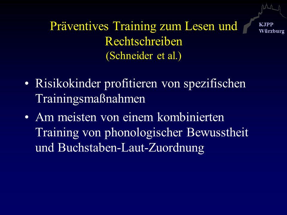 Präventives Training zum Lesen und Rechtschreiben (Schneider et al.)