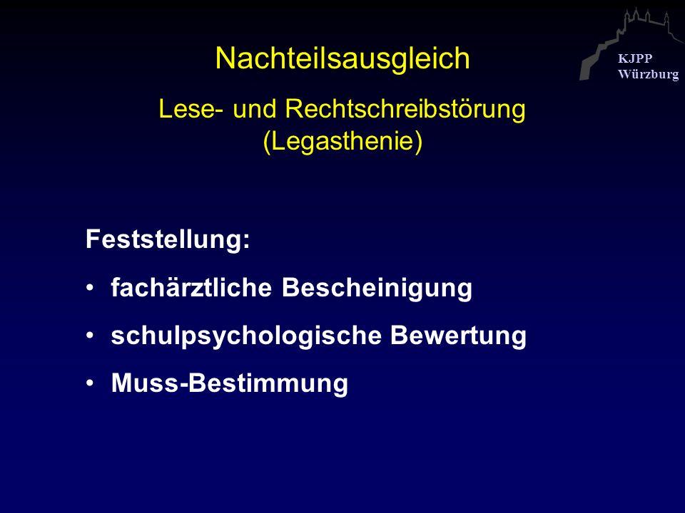 Lese- und Rechtschreibstörung (Legasthenie)