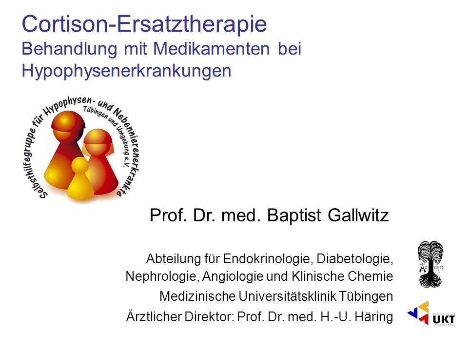 Prof. Dr. med. Baptist Gallwitz