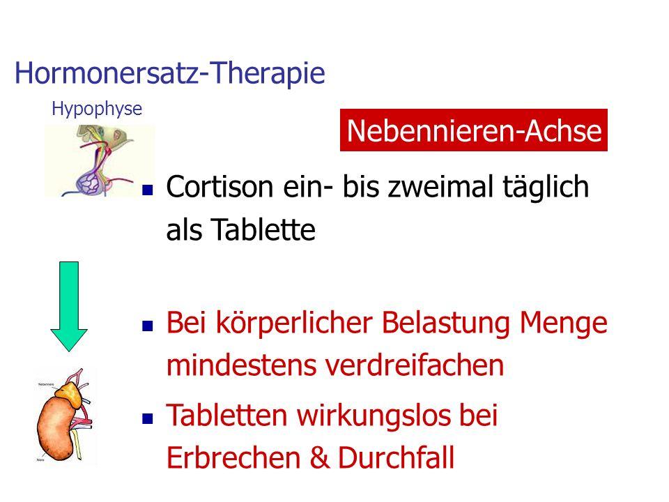 Hormonersatz-Therapie