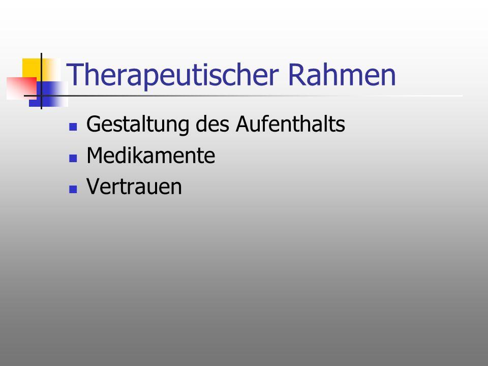 Therapeutischer Rahmen