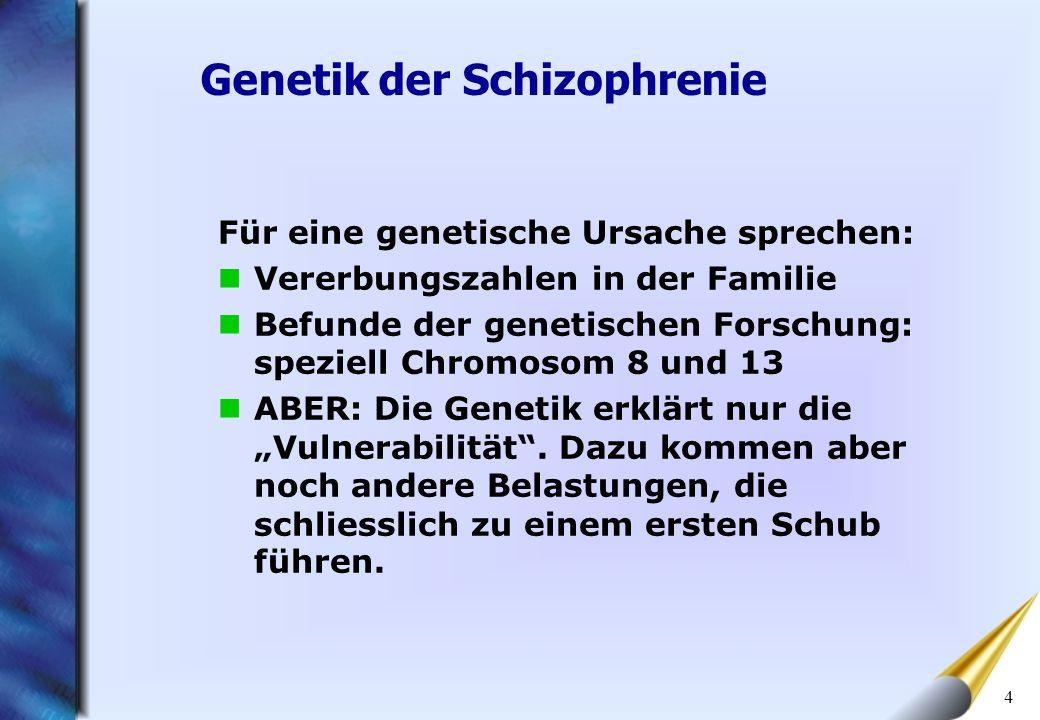 Genetik der Schizophrenie