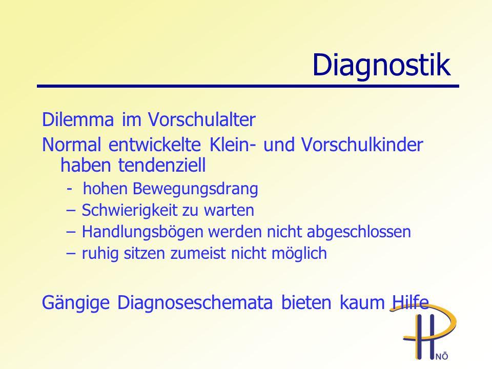 Diagnostik Dilemma im Vorschulalter