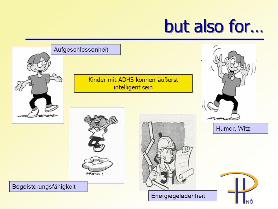 Kinder mit ADHS können äußerst intelligent sein