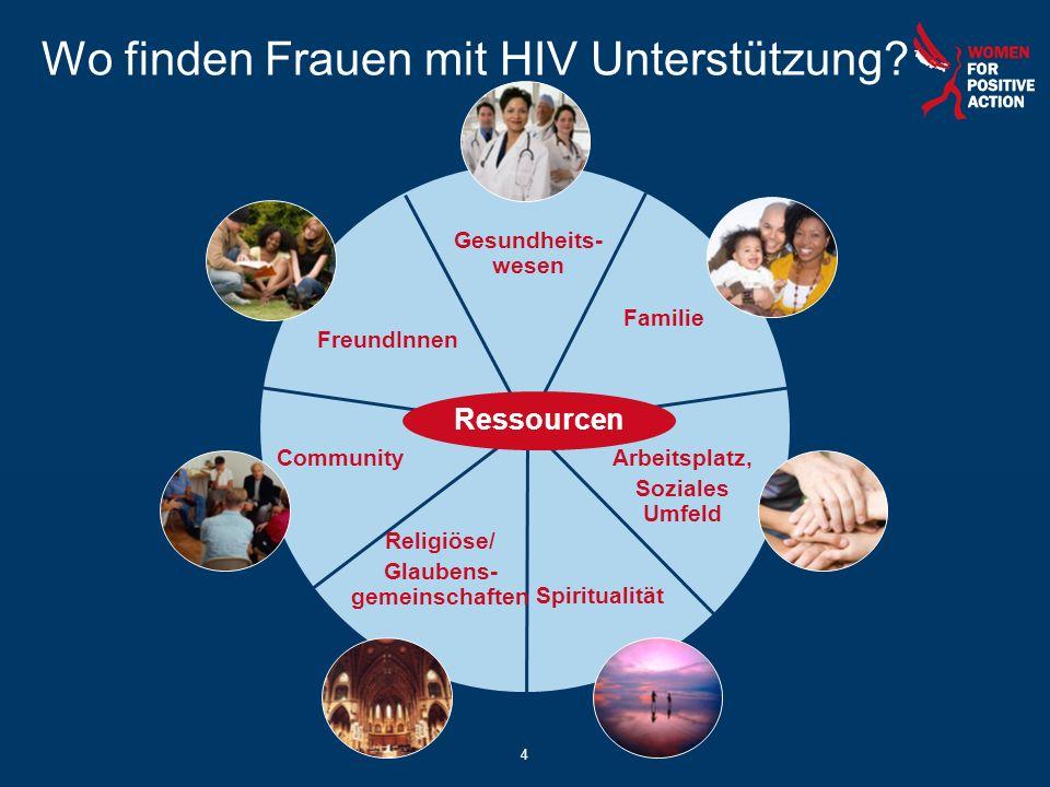 Wo finden Frauen mit HIV Unterstützung