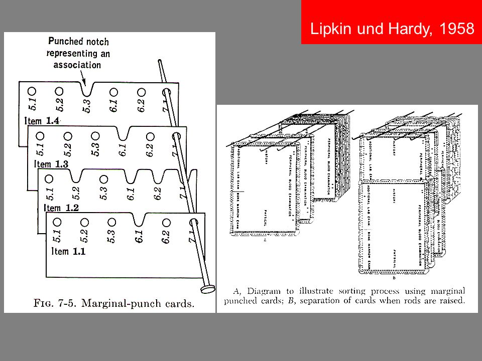 Lipkin und Hardy, 1958