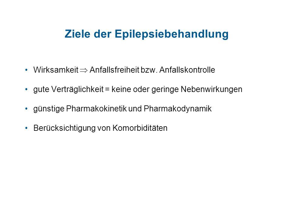 Ziele der Epilepsiebehandlung